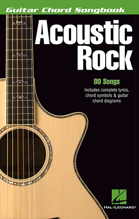 Books > Hal Leonard - Acoustic Rock - Guitar Chord Songbook