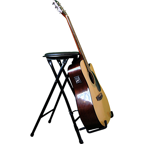 Stands Stage Player 2 Folding Guitar Stand And Stool