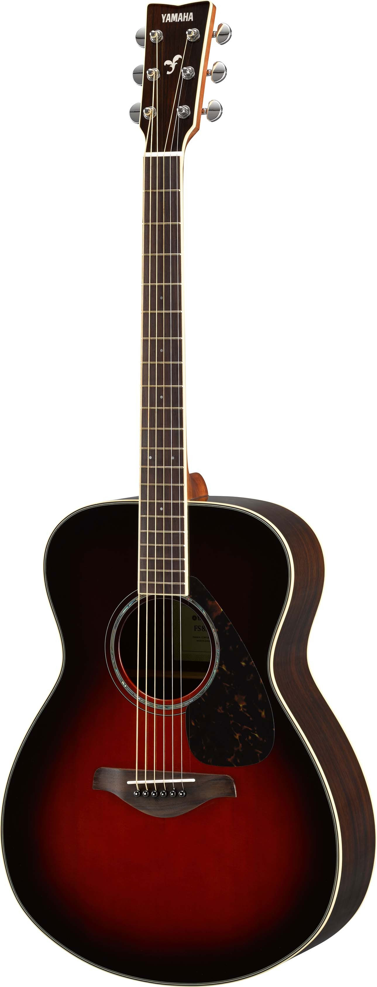 yamaha yamaha fs830 tbs natural small body acoustic guitar tobacco brown sunburst. Black Bedroom Furniture Sets. Home Design Ideas