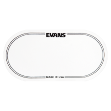 Evans EQPC2 EQ Clear Plastic Double Patch