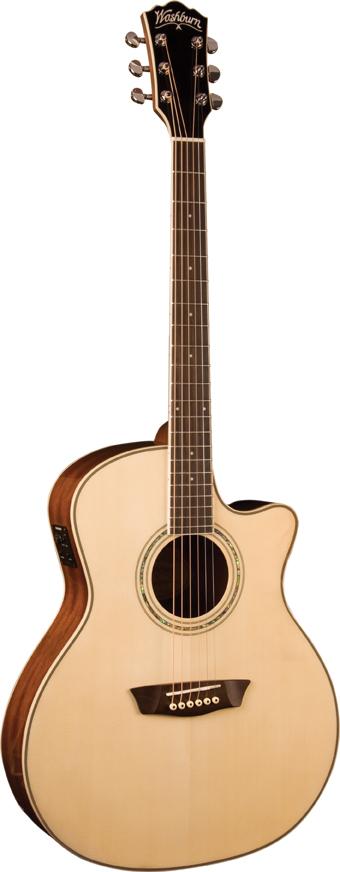 guitars washburn wcg18ce comfort series acoustic guitar. Black Bedroom Furniture Sets. Home Design Ideas