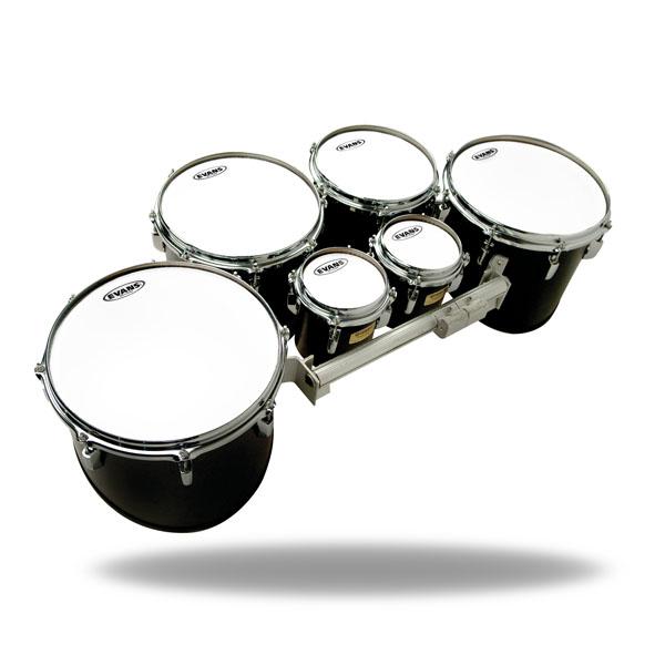 drum heads evans tt06mxw 6 mx white tenor. Black Bedroom Furniture Sets. Home Design Ideas