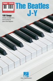 The Beatles - Piano Chord Songbook J-Y