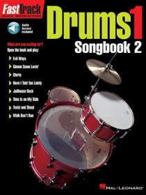 FastTrack Drums Songbook 2 – Level 1