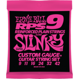 Ernie Ball 2239 RPS-9 Slinky Nickel Wound Set, 9-42
