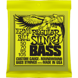 Ernie Ball 2832 Regular Slinky Roundwound Bass Strings, 50-105