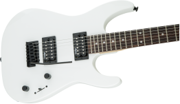 Jackson JS Series Dinky™ JS11, Amaranth Fingerboard, Snow White