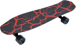 Jackson® Red Crackle Skateboard by Aluminati®