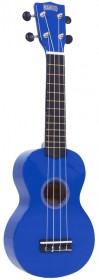 Mahalo MR1BU Rainbow Series Soprano Ukulele, Blue