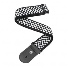 Planet Waves 50C02 Woven Guitar Strap, Check Mate