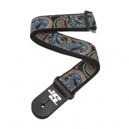 Planet Waves 50JS04 Joe Satriani Guitar Strap, Snakes Mosaic