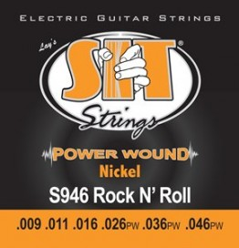 SIT Strings S946 Power Wound Electric Rock-N-Roll, 9-46