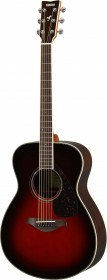 Yamaha FS830TBS Natural Small Body Acoustic Guitar,Tobacco Brown Sunburst