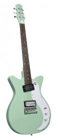 Danelectro 59X Double Cutaway Electric Guitar, Light Aqua
