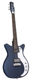 Danelectro 59X Double Cutaway Electric Guitar, Navy Blue