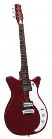 Danelectro 59X Double Cutaway Electric Guitar,  Dark Burgundy