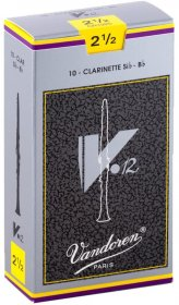 Vandoren CR1925 V12 Bb Clarinet Reeds, Box of 10, Strength 2.5