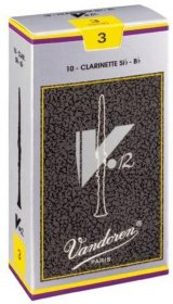 Vandoren CR193 V12 Bb Clarinet Reeds, Box of 10, Strength 3