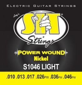 SIT Strings S1046 Power Wound Electric Light, 10-46