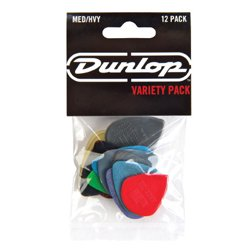 Dunlop PVP102 Guitar Pick Variety Pack, Medium/Heavy