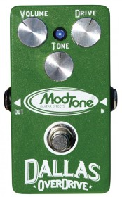 ModTone MT-DO Dallas Overdrive Effects Pedal