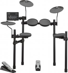 Yamaha DTX 402K 5-piece Electronic Drum Set with Rubber Pads