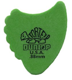 Dunop 414R.88 Tortex Fin Picks, .88mm, 72 Pack