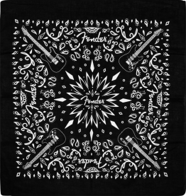Fender™ Bandana, Black