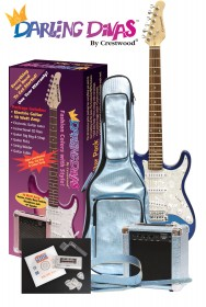 Darling Divas Electric Guitar Pack - Various Colors