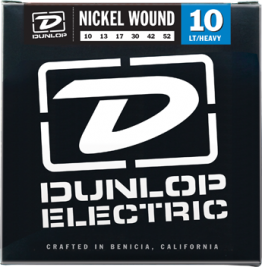 Dunlop DEN1052 Nickel Plated Steel Guitar Strings 10-52