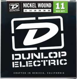Dunlop DEN1150 Nickel Plated Steel Guitar Strings 11-50