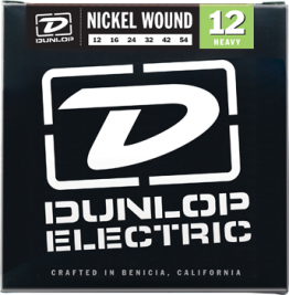 Dunlop DEN1254 Nickel Plated Steel Guitar Strings 12-54