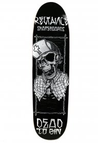 Reliance Skateboards Dead to Sin, Pool Shape Skateboard Deck