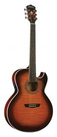 Washburn EA15ATB Festival Series Mini Jumbo Acoustic/Electric