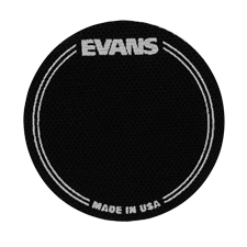Evans EQPB1 EQ Black Nylon Single Patch