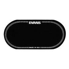 Evans EQPB2 EQ Black Nylon Double Patch