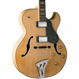 Washburn J3NK-O Hollowbody Electric Guitar, Natural