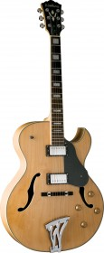 Washburn J3NK Jazz Electric Guitar - Natural