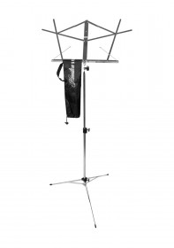 Hamilton Stands KB900N Deluxe Folding Sheet Music Stand - Chrome