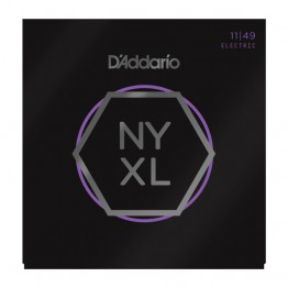 D'Addario NYXL1149 Nickel Wound Electric Strings, Medium, 11-49