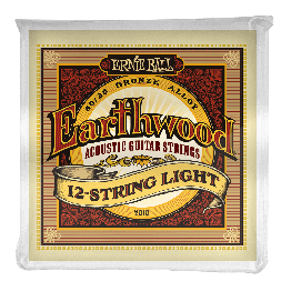 Ernie Ball 2010 Earthwood Light 12-String 80/20 Bronze, 9-46