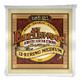 Ernie Ball 2012 Earthwood Medium 12-String 80/20 Bronze, 11-52