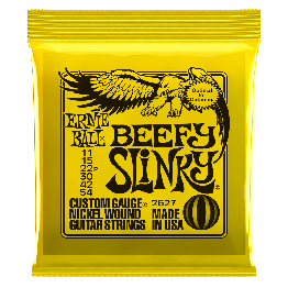 Ernie Ball 2627 Beefy Slinky Electric Strings, 11-54