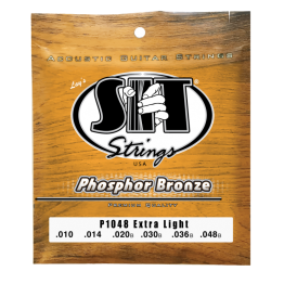 SIT Strings P1048 Phosphor Bronze Acoustic Extra Light, 10-48