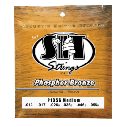 SIT Strings P1356 Phosphor Bronze Acoustic Medium, 13-56
