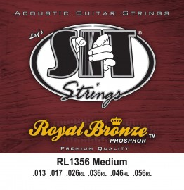SIT Strings RL1356 Royal Bronze Acoustic Medium, 13-56