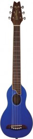 Washburn RO10TBL Travel Guitar - Transparent Blue