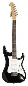 Washburn S1B Sonamaster Series Electric Guitar, Black