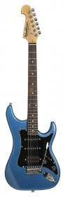 Washburn S2HMBL Sonamaster Series Electric Guitar, Metallic Blue