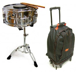 TKO SDK10BPK-W 10 Lug Snare Kit Package with Wheeled Backpack